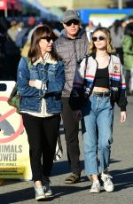 GENEVIEVE HANNELIUS at Farmers Market in Los Angeles 12/16/2018