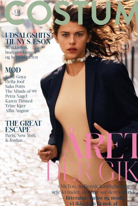 GEORGIA FOWLER in Costume Magazine, January 2019