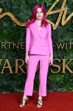 GEORGIA MAY JAGGER at British Fashion Awards in London 12/10/2018