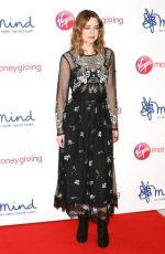 GEORGIA TAYLOR at Mind Media Awards in London 11/29/2018