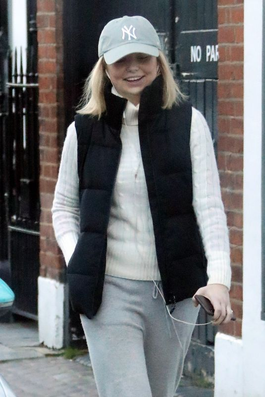 GEORGIA TOFFOLO Out and About on Kings Road in London 12/24/2018