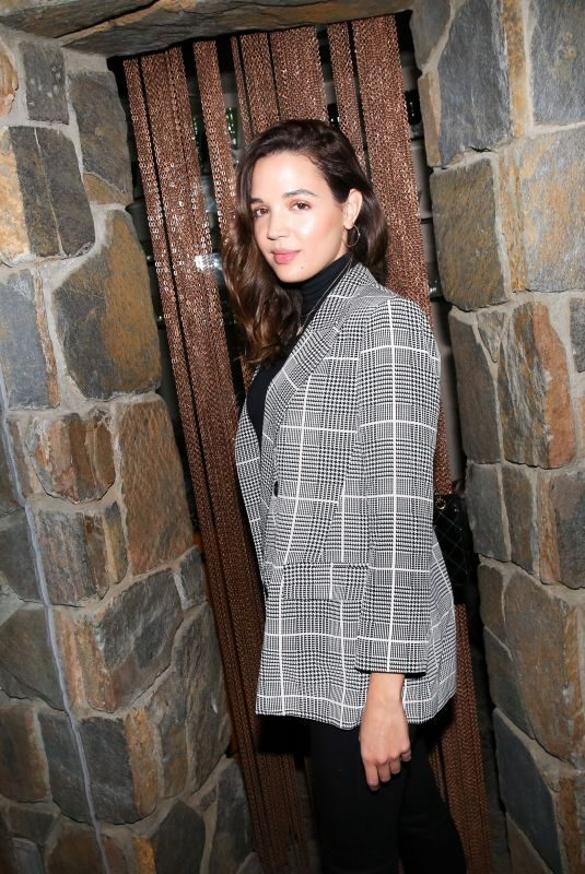 GEORGIE FLORES at Erica Pelosini x Naked Cashmere Holiday Dinner in Los Angeles 12/15/2018