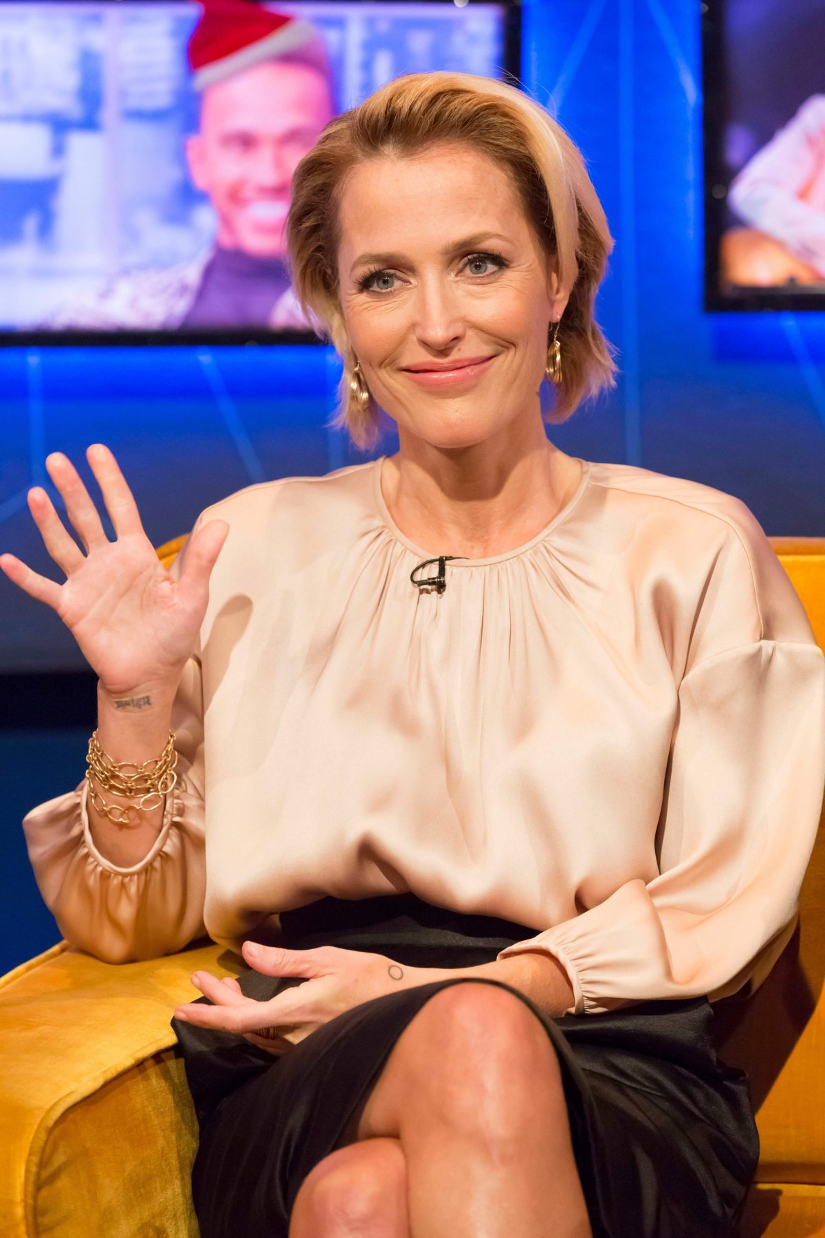 GILLIAN ANDERSON at Jonathan Ross Show in London 12/02/2018