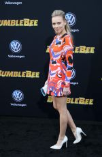 GRACIE DZIENNY at Bumblebee Premiere in Hollywood 12/09/2018