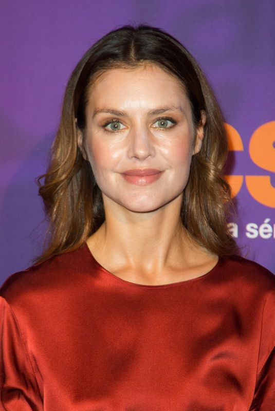 HANNAH WARE at Ocs 10th Anniversary in Paris 12/13/2018