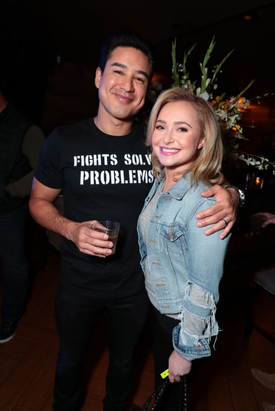 HAYDEN PANETTIERE at Showtime PPV Presents Wilder vs Fury Heavyweight Championship 01/12/2018