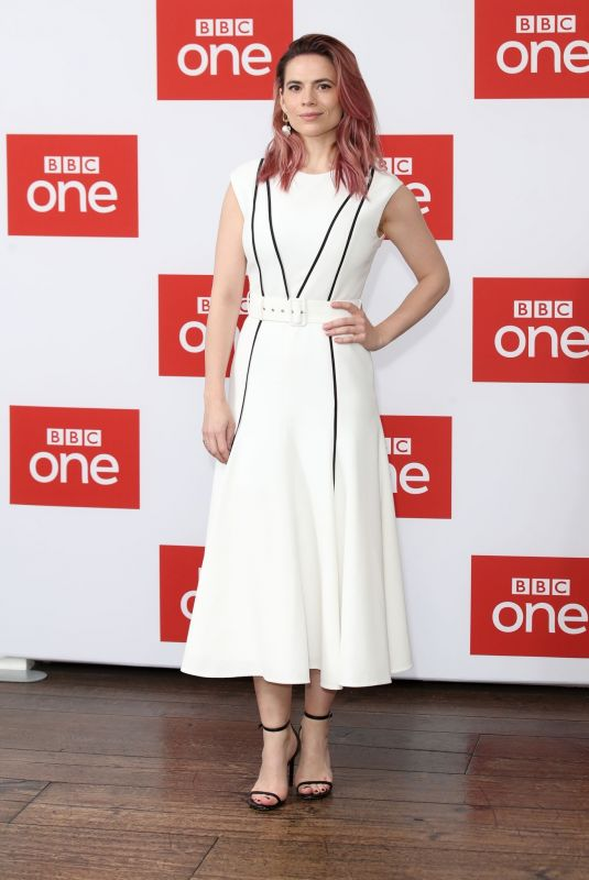 HAYLEY ATWELL at The Long Song Show Premiere in London 12/11/2018