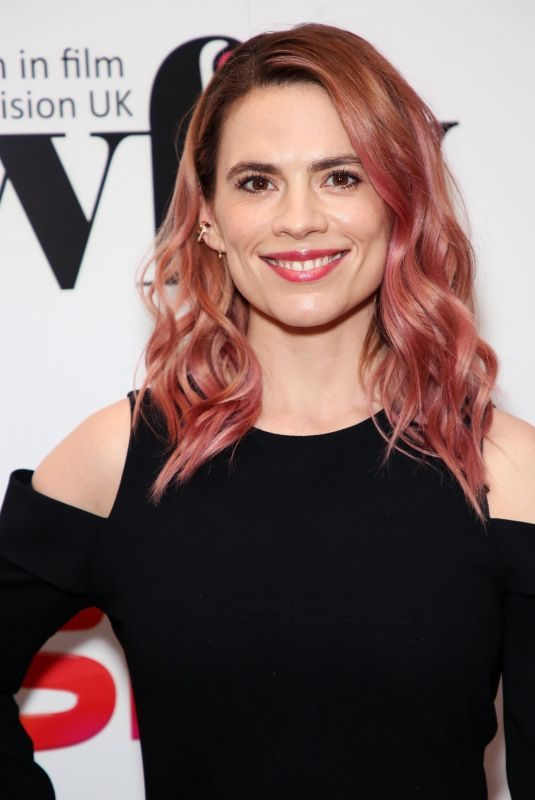 HAYLEY ATWELL at Women in Film and Television Awards in London 12/07/2018