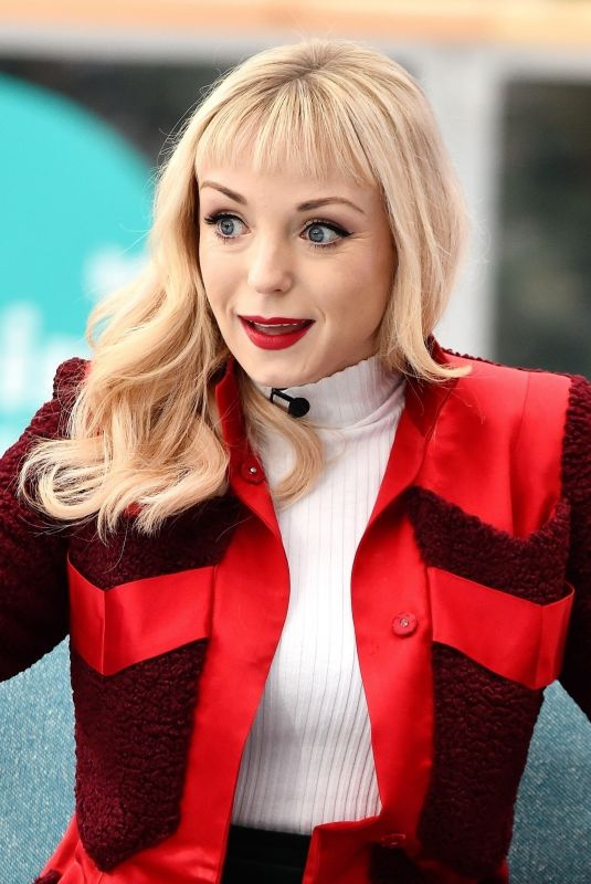 HELEN GEORGE at This Morning Show in London 12/12/2018