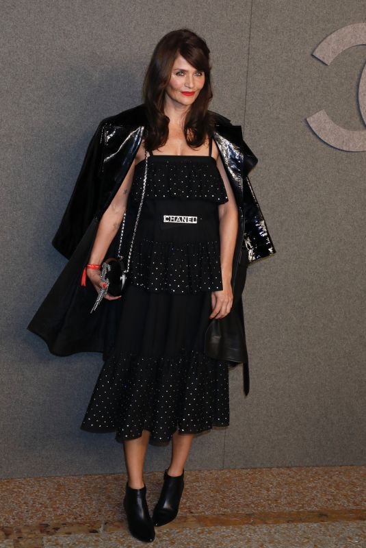 HELENA CHRISTENSEN at Chanel Metiers D