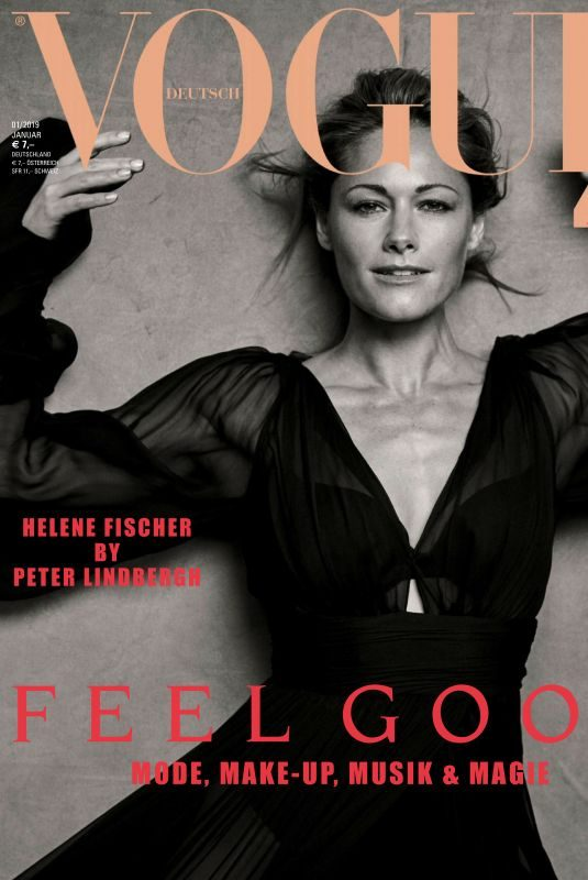 HELENE FISCHER in Vogue Magazin, Germany January 2019