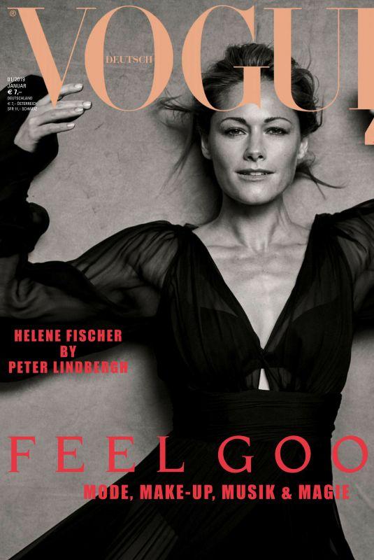 HELENE FISCHER in Vogue Magazin, Germany January 2019