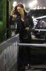 HILARY SWANK Arrives at Fleetwood Mac Concert in Inglewood 12/12/2018