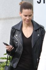 HILARY SWANK Out and About in Beverly Hills 12/12/2018