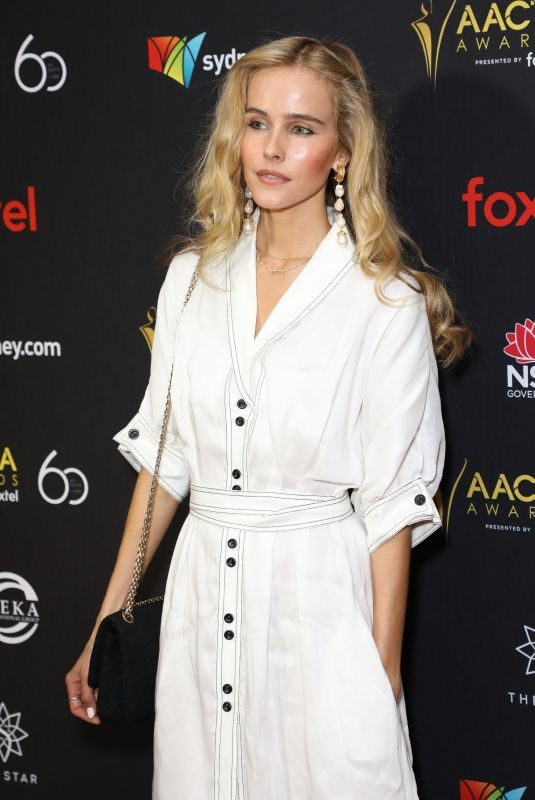 ISABEL LUCAS at AACTA Awards Industry Luncheon in Sydney 12/03/2018