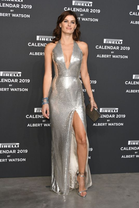 ISABELI FONTANA at Pirelli Calendar 2019 Launch Gala in Milan 12/05/2018