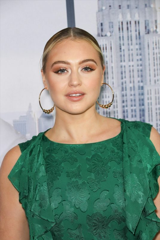 ISKRA LAWRENCE at Second Act Premiere in New York 12/12/2018