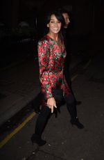 JACKIE ST CLAIR at Piers Morgans Christmas Party in London 12/20/2018
