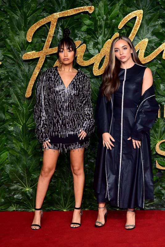 JADE TIRLWALL and LEIGH-ANNE PINNOCK at British Fashion Awards in London 12/10/2018