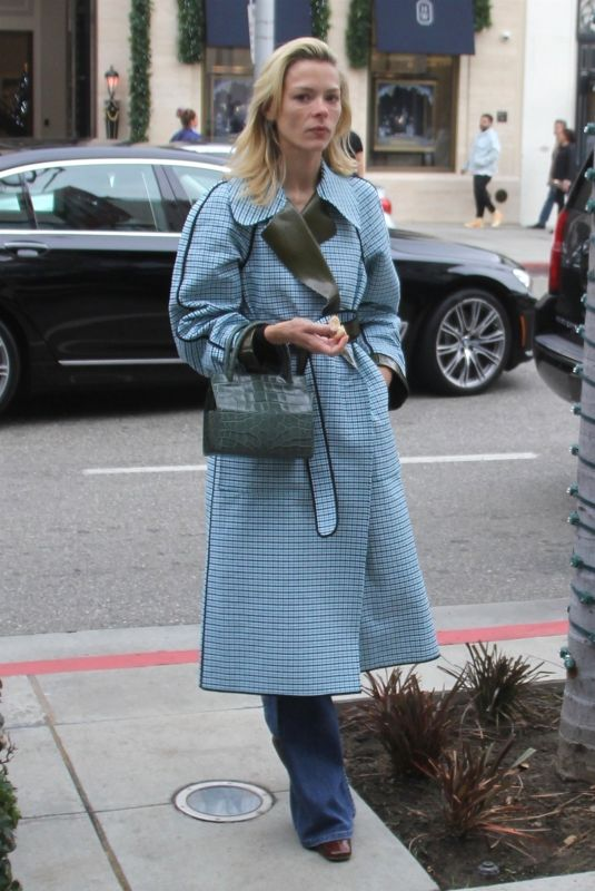 JAIME KING Out Shopping on Rodeo Drive in Beverly Hills 12/23/2018