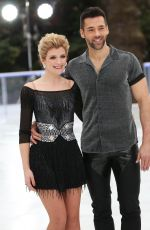 JANE DANSON at Dancing on Ice Show Photocall in London 12/18/2018