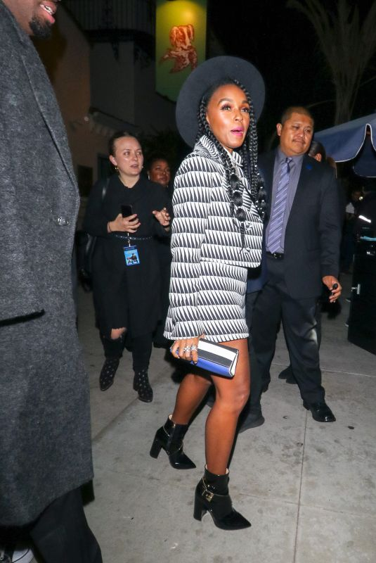 JANELLE MONAE Arrives at The Hearth & Hound Restaurant in Hollywood 12/11/2018