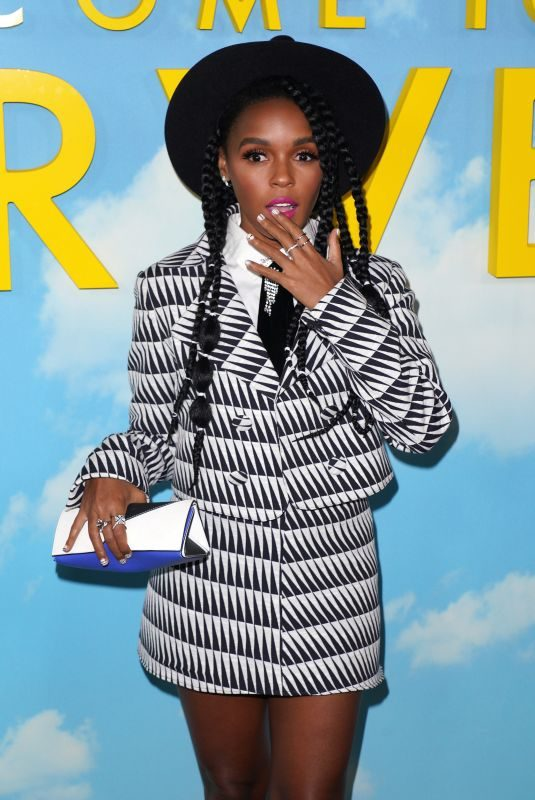 JANELLE MONAE at Welcome to Marwen Premiere in Hollywood 12/10/2018