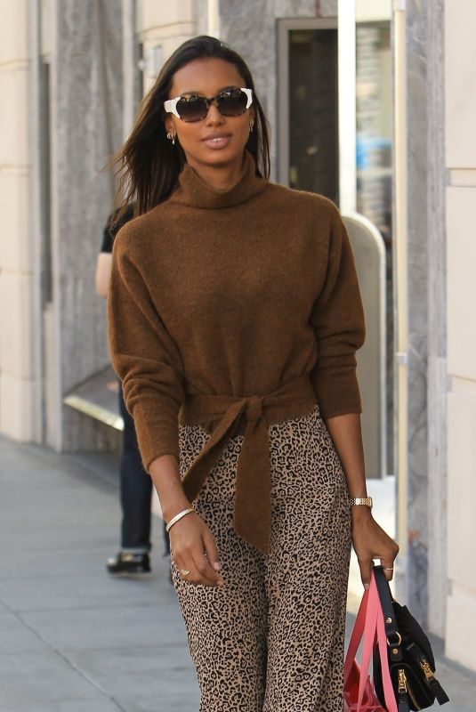 JASMINE TOOKES Out Shopping in Beverly Hills 12/20/2018