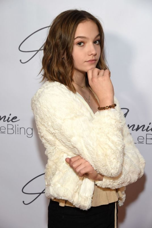 JAYDEN BARTELS at Annie Lebling Presents Annie Leblanc Performance & Pop Up Shop in Los Angeles 12/08/2018