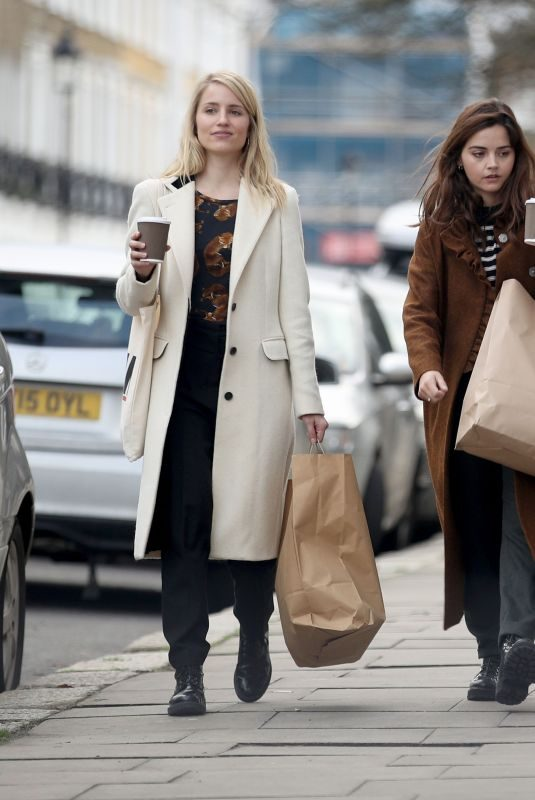 JENNA LOUISE COLEMAN and DIANNA AGRON Out in London 12/06/2018