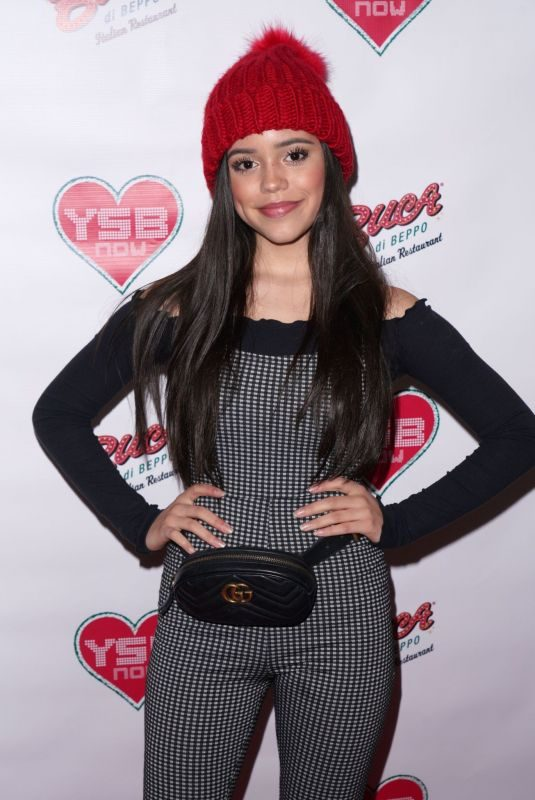 JENNA ORTEGA at Ysbnow Holiday Dinner and Toy Drive in Universial City 12/05/2018