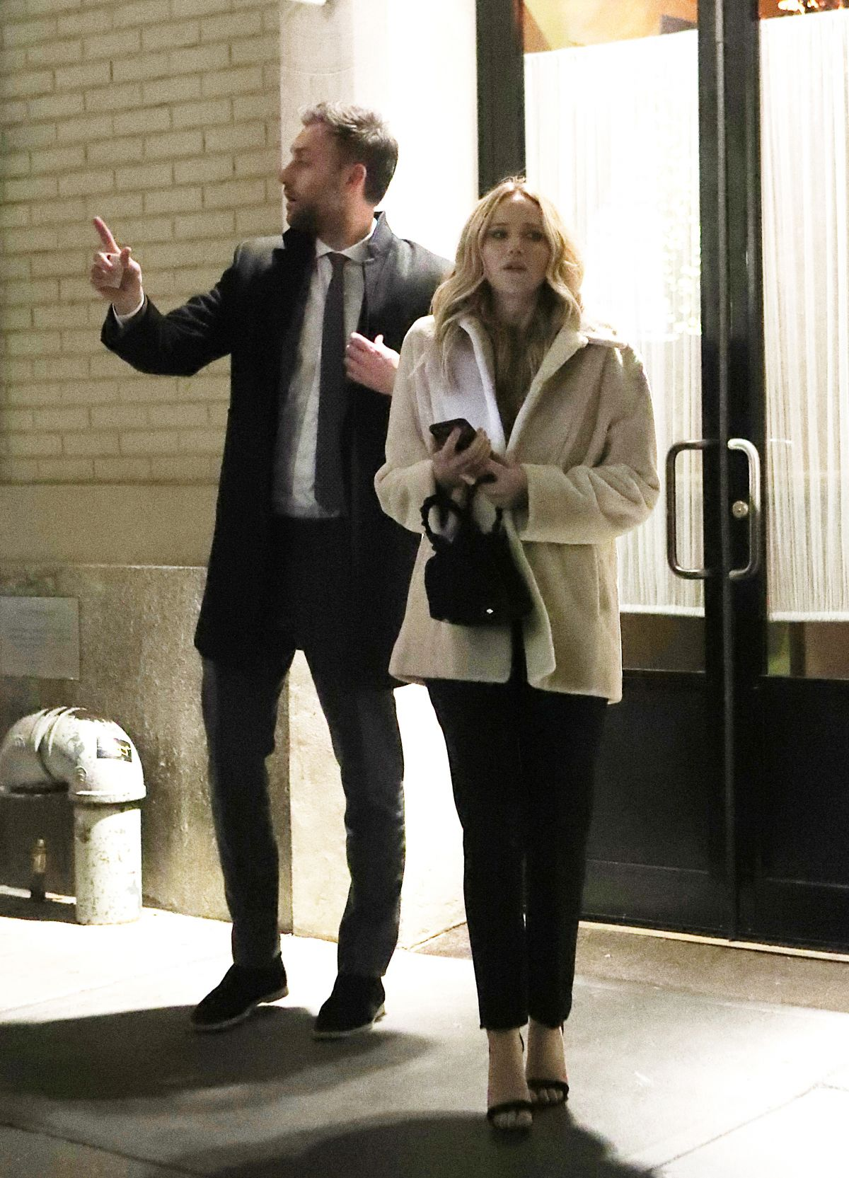 JENNIFER LAWRENCE And Cooke Maroney Out For Dinner In New