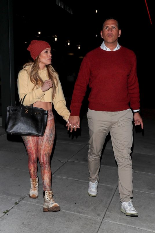 JENNIFER LOPEZ and Alex Rodriguez at Craig