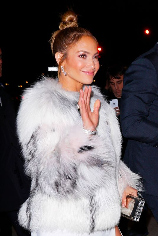JENNIFER LOPEZ Arrives at Second Act Premiere Afterparty in New York 12/12/2018