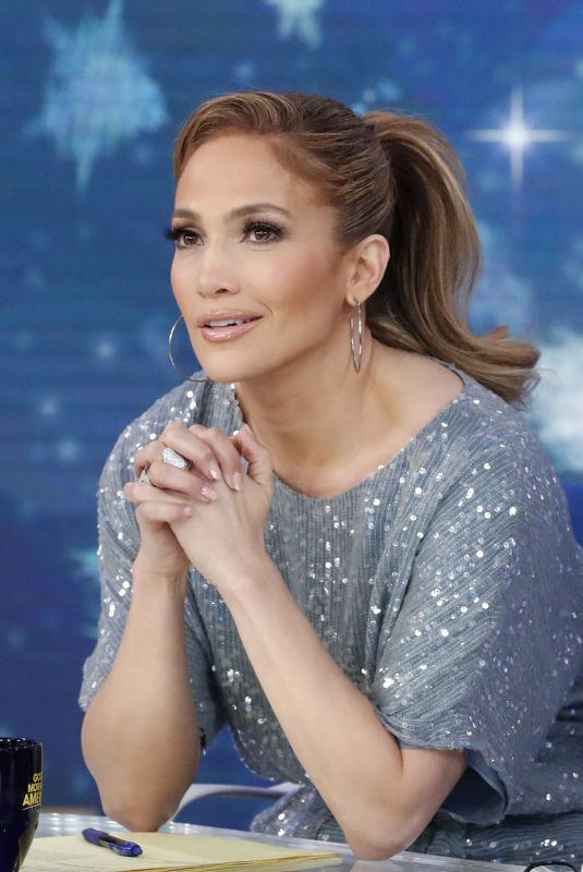 JENNIFER LOPEZ at Good Morning America 12/12/2018