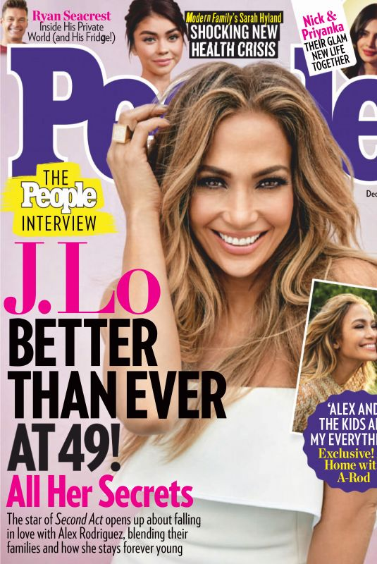 JENNIFER LOPEZ in People Magazine, December 2018