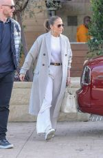 JENNIFER LOPEZ Leaves Soho House in Malibu 12/30/2018