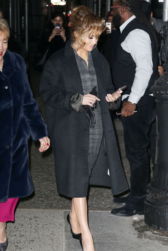 JENNIFER LOPEZ Out in New York 12/12/2018