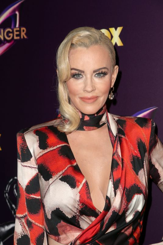JENNY MCCARTHY at The Masked Singer Premiere in West Hollywood 12/13/2018