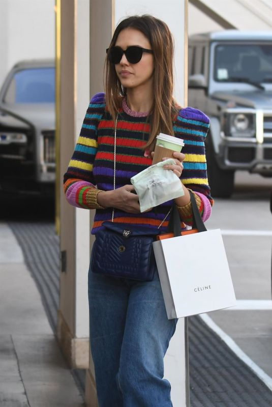 JESSICA ALBA Out Shopping in Beverly Hills 12/21/2018