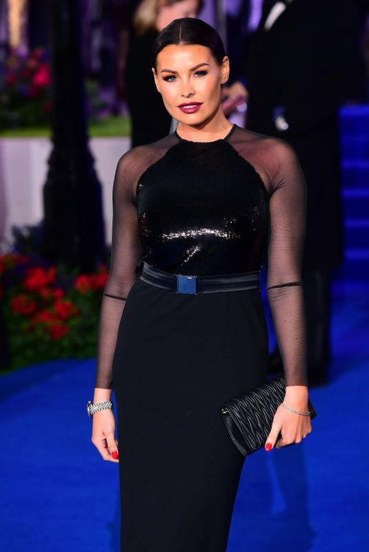JESSICA WRIGHT at Mary Poppins Returns Premiere in London 12/12/2018