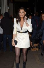 JESSICA WRIGHT at Mayfair Hotel Bar in London 12/14/2018