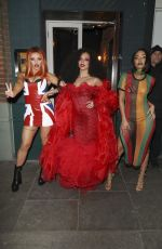 JESY NELSON, JADE THIRLWALL and LEIGH-ANNE PINNOCK at Jade Thirlwall
