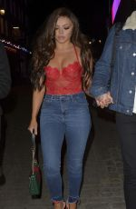 JESY NELSON Night Out in London 12/12/2018