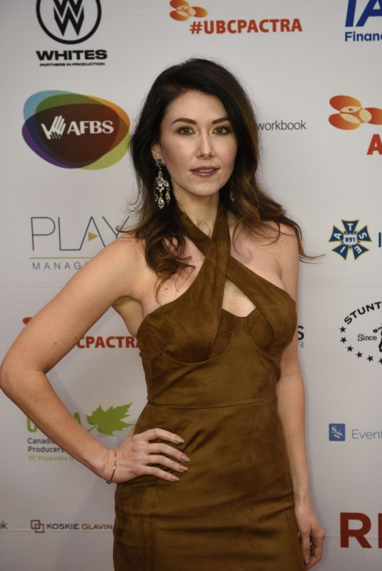 JEWEL STAITE at Ubcp/Actra Awards Gala at Vancouver Playhouse 12/08/2018