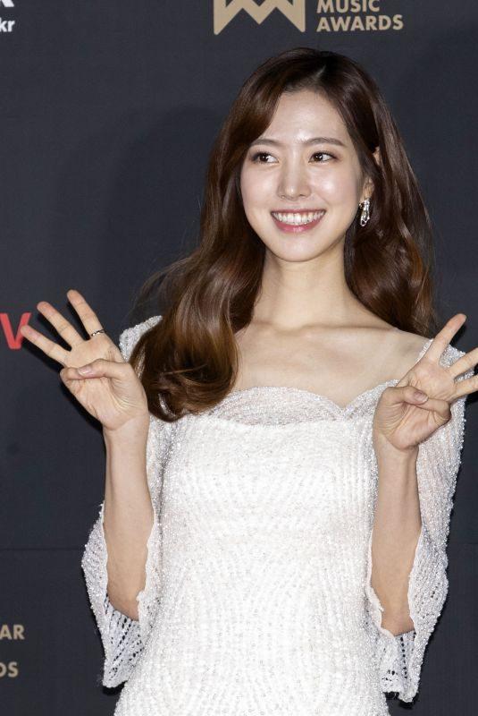 JIN SE-YEON at 1st Korea Popular Music Awards in Seoul 12/20/2018
