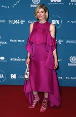 JODIE WHITTAKER at British Independent Film Awards 2018 in London 12/02/2018
