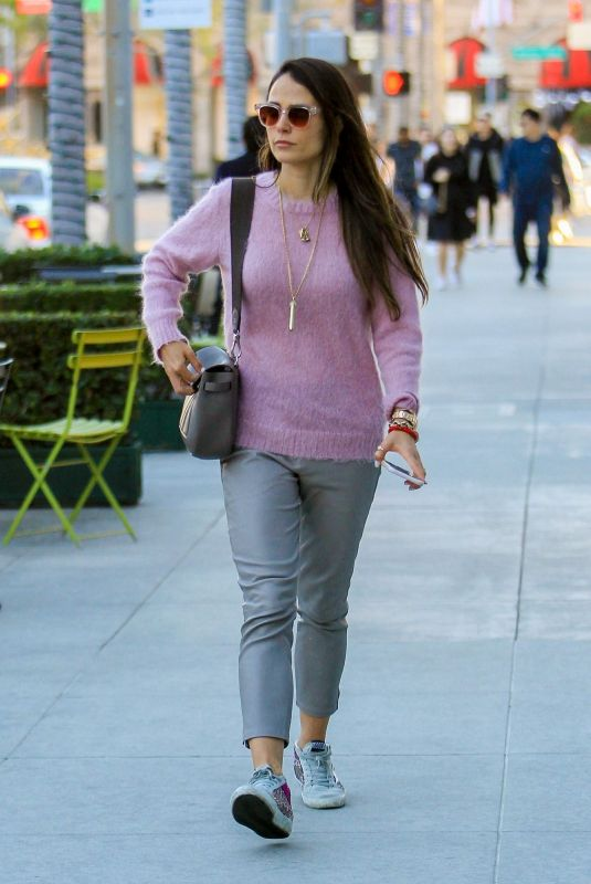 JORDANA BREWSTER Out on Rodeo Drive in Beverly Hills 12/03/2018