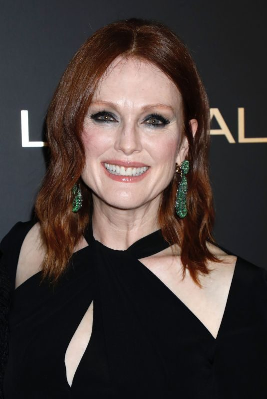 JULIANNE MOORE at L'Oreal Paris Women of Worth Celebration in New York 12/05/2018