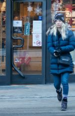 KALEY CUOCO on Honeymoon in Zermatt 12/15/2018